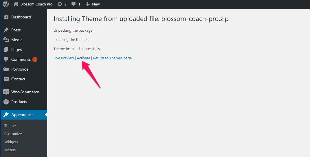 Activate Blossom Coach Pro
