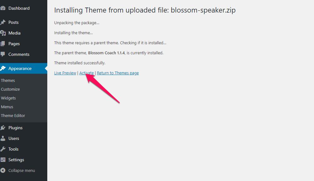 Activate Blossom Speaker