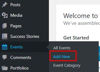 Add event blossom coach pro
