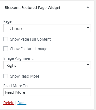Configure about page introduction section