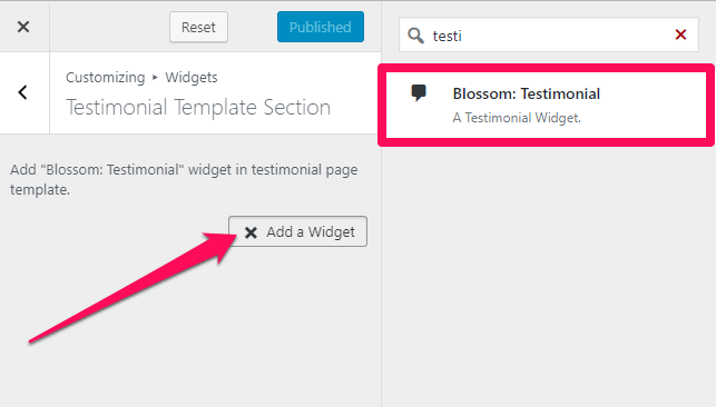 Selct-testimonial-widget