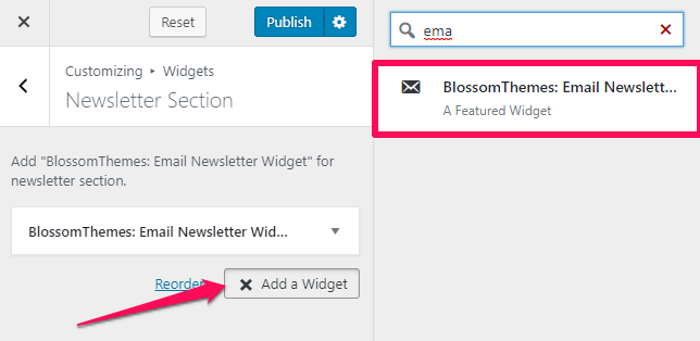 Select blossom email newsletter