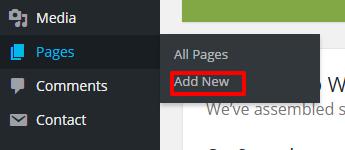 Add new page blossom spa pro