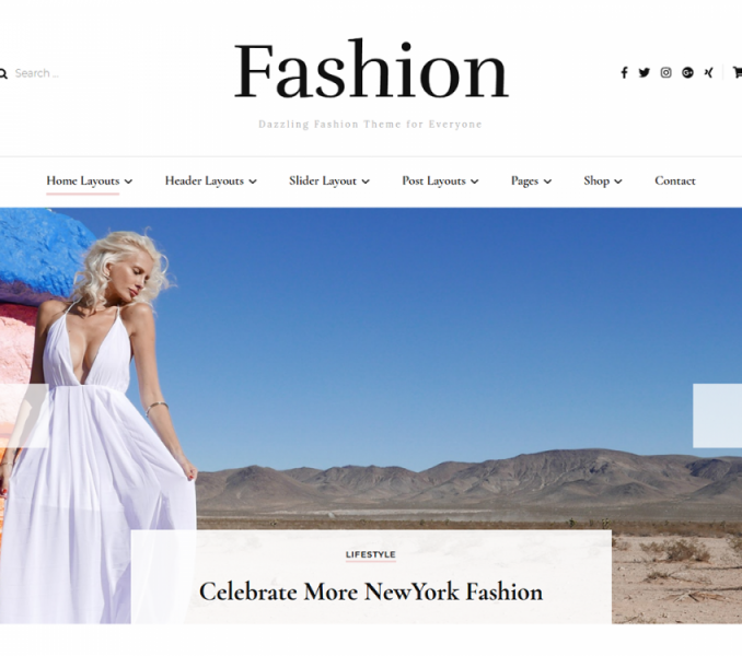 Blossom Fashion Free WordPress Theme