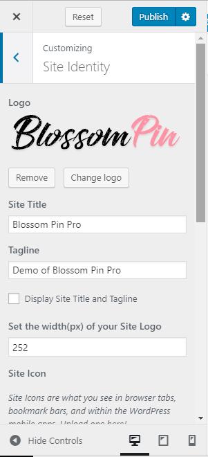 site identity