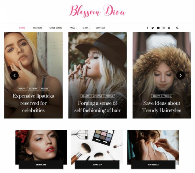 Blossom Diva Documentation