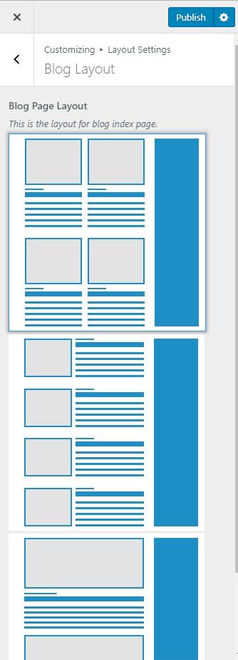 Blog layout demo life coach