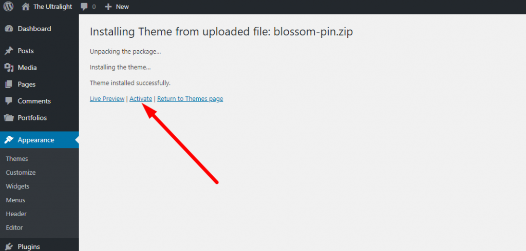 activate blossom pin