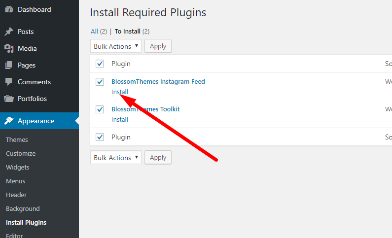 Install recommended plugins now