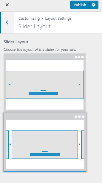 Slider layouts blossom beauty
