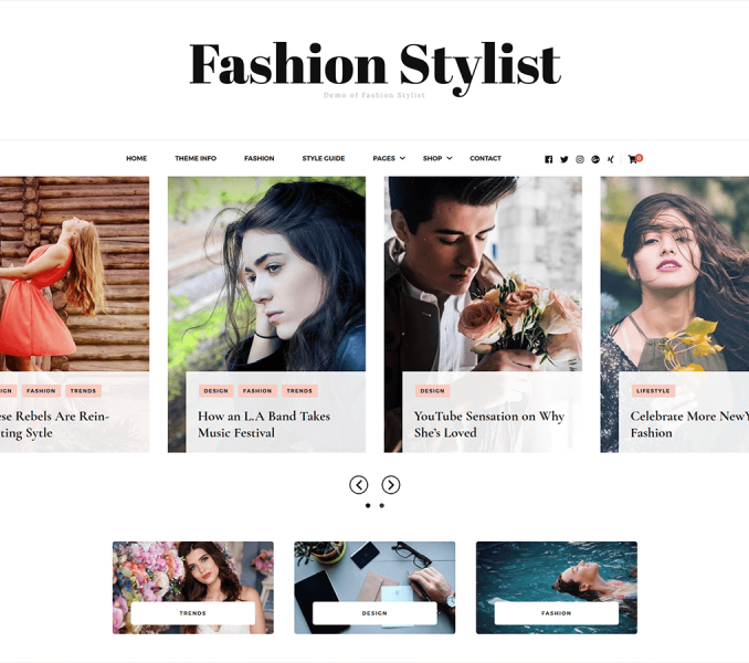 Fashion Stylist Documentation