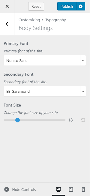 primary-secondary font